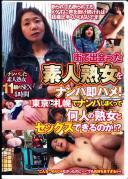 街で出会った素人熟女をナンパ即ハメ! 東京と札幌でナンパしまくって何人の熟女とセックスできるのか!?
